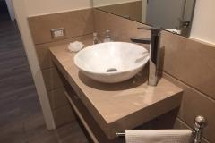 mensola + lavabo