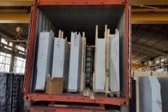 Lastre Bianco Carrara Container