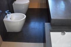 Rivestimento bagno in Clauzetto e Pietra Lavica dell'Etna - Copia