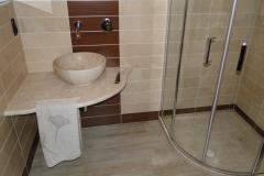 Bagno in marmo orosei