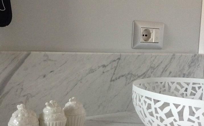 Piani in marmo per cucine
