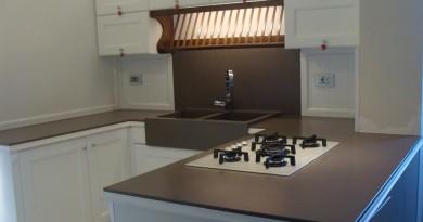Piano cucina in Quarzo tecnico